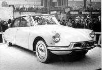 1955 Citroën DS 19, Paris Salon d'Automobile